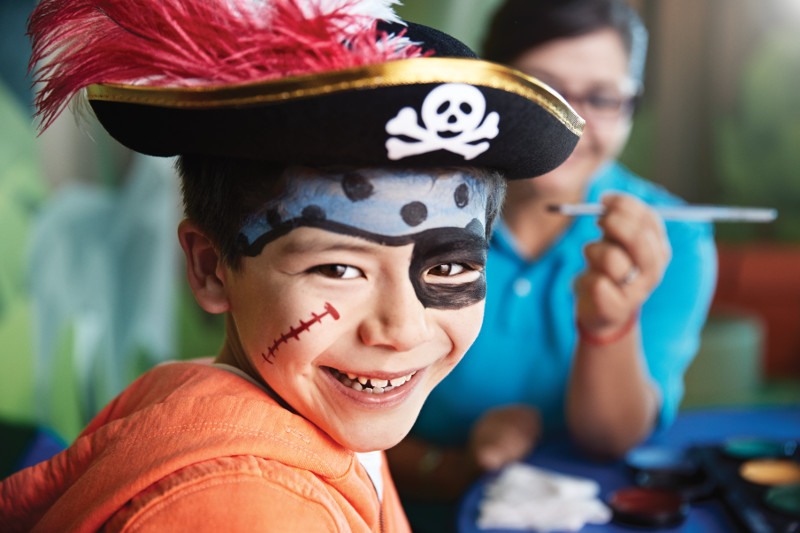 детский центр на Carribean Princess