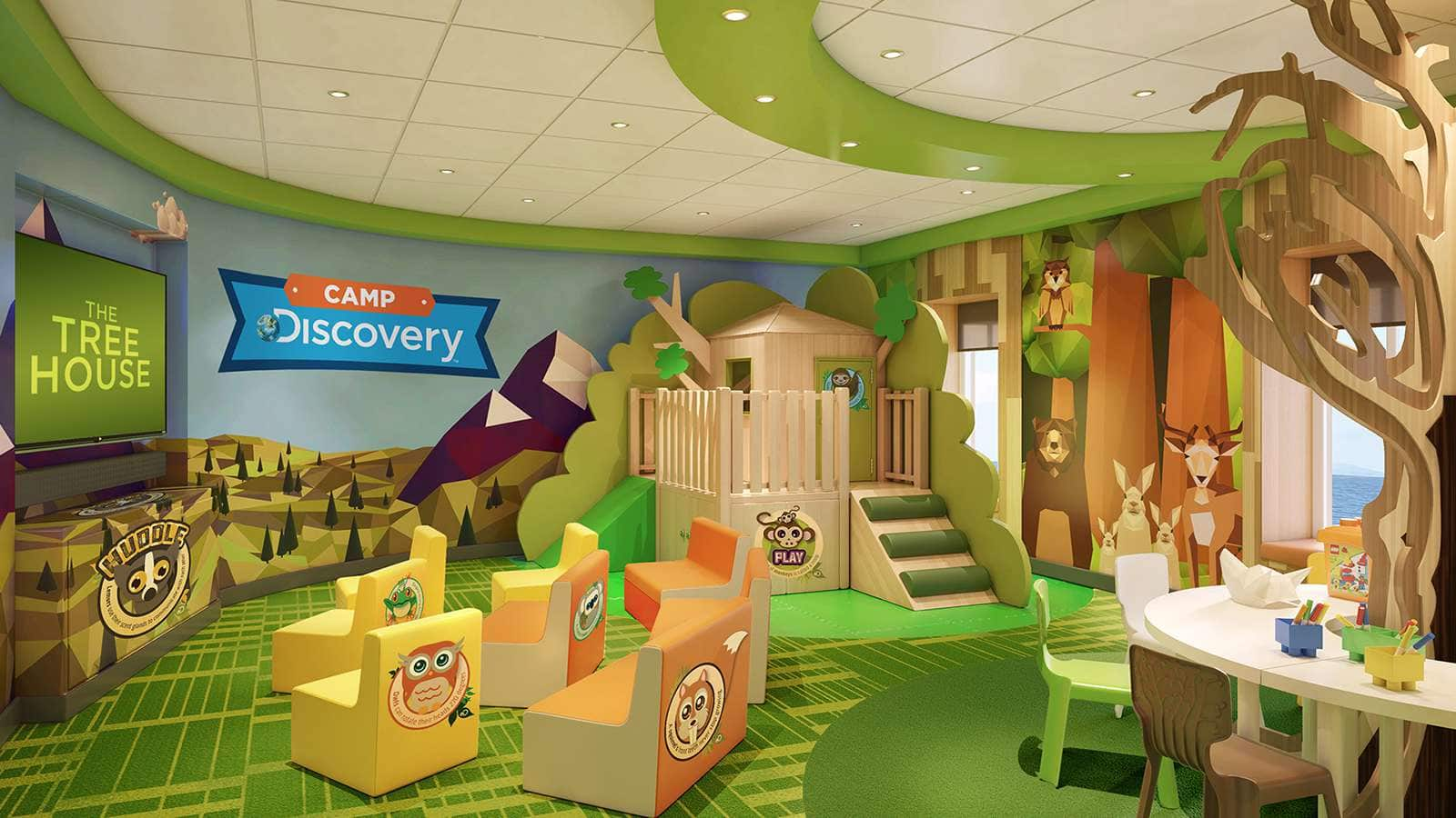 Детский клуб - Camp Discovery
