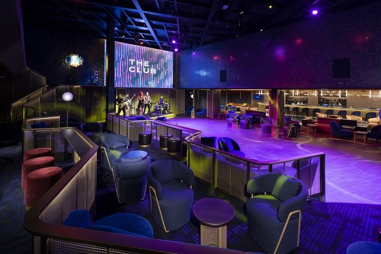 Двухэтажный Ночной Клуб The Club