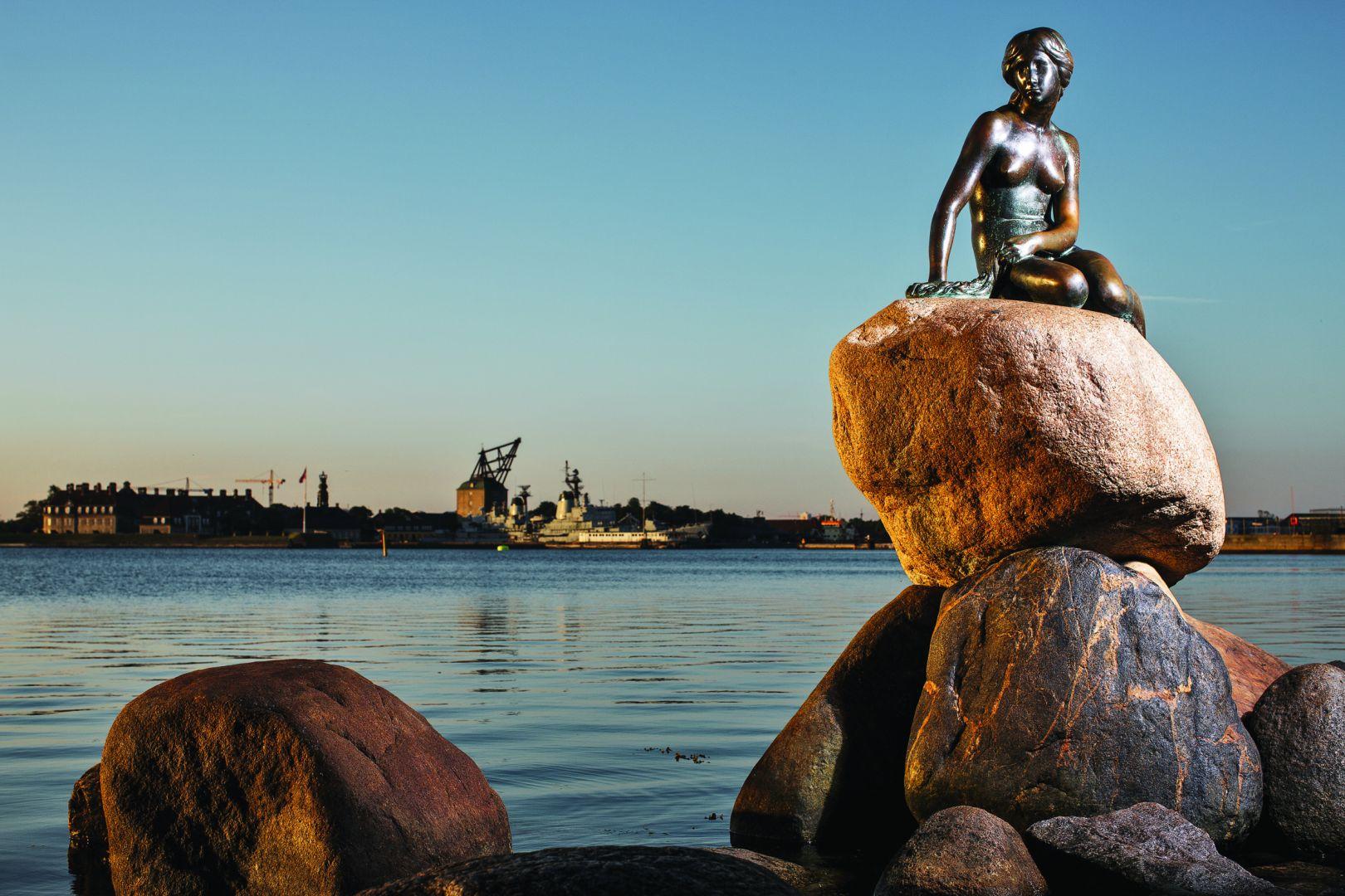 Памятник Русалочке, Копенгаген