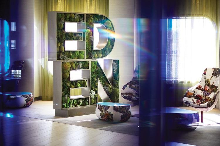 Райский сад Eden с рестораном 3D