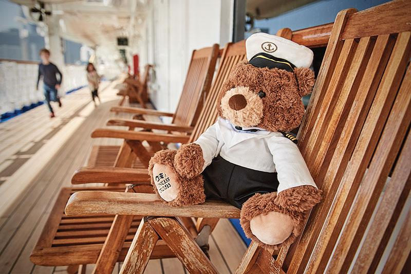 отдыхайте с детьми на открытых палубах