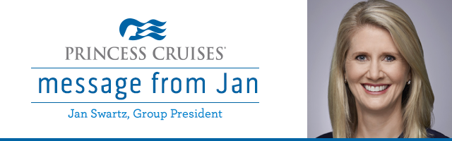 Президент Princess Cruises Jan Swartz