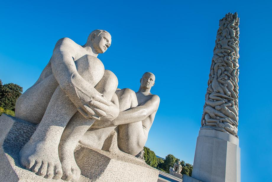 Парк скульптур Вигеланд, Осло