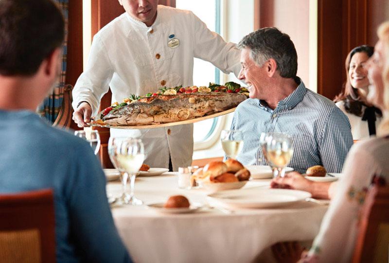 кулинарные изыски в ресторане