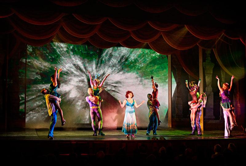 магические шоу и мюзиклы