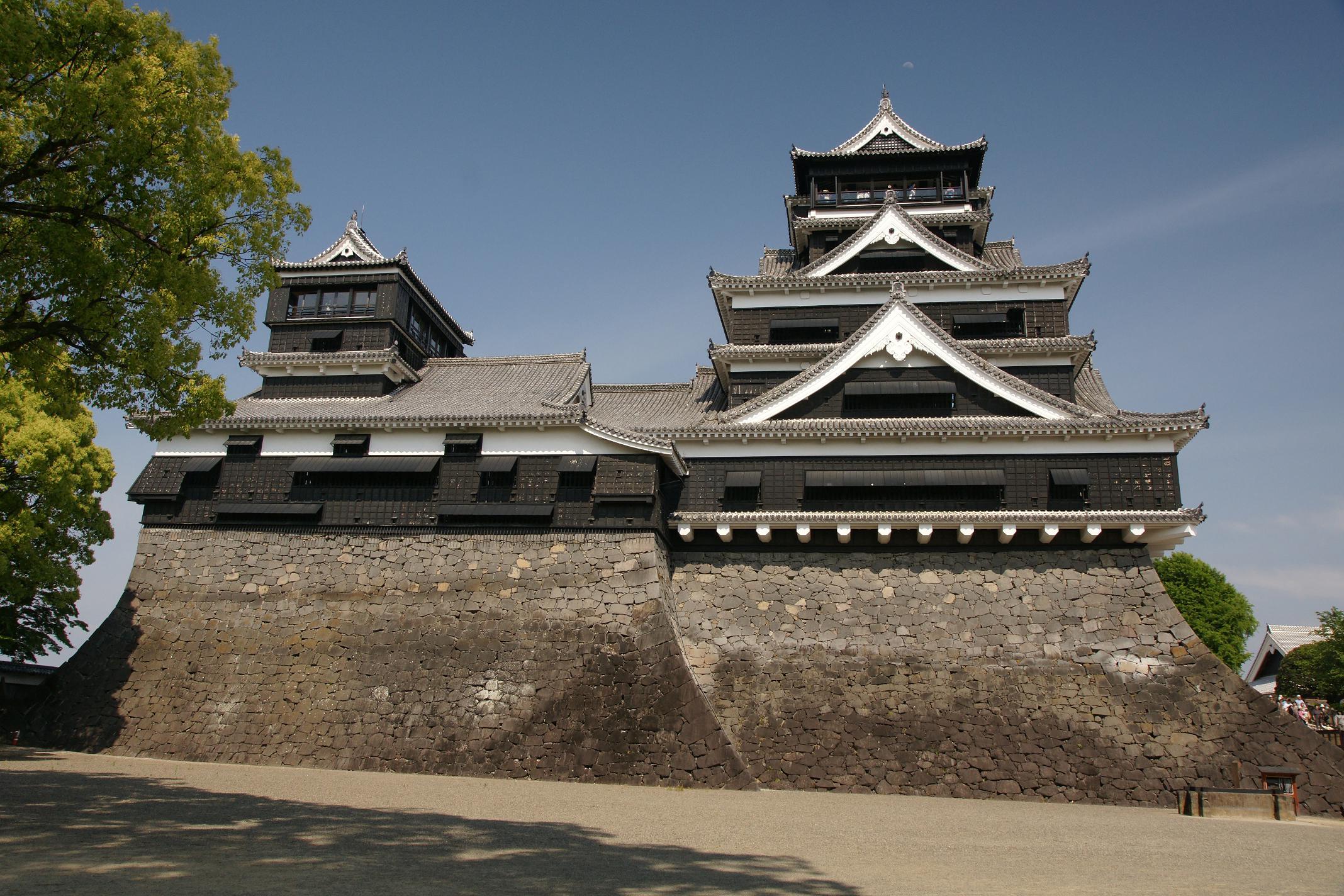 Замок в Кумамото