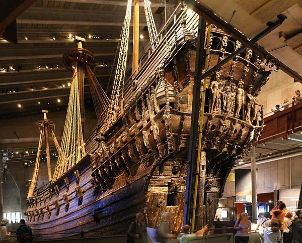 Музей-корабль Васа, Стокгольм