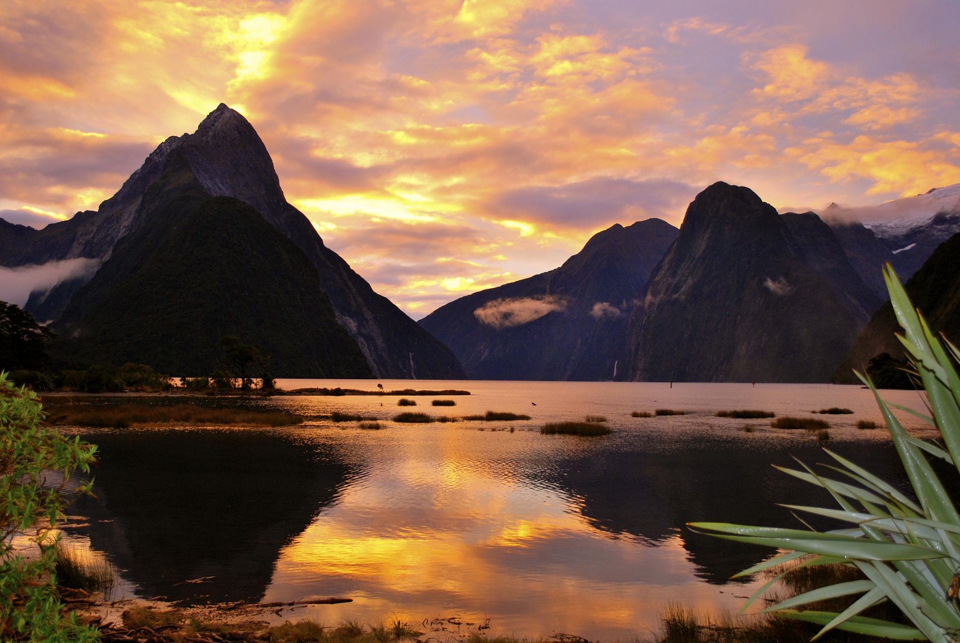 Новая зеландия Hd: Национальный парк фьордов