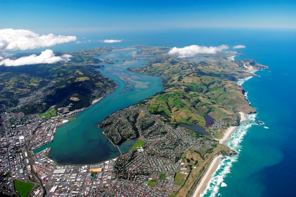 Новая Зеландия Image: Достопримечательности Данидина в круизах по Австралии и