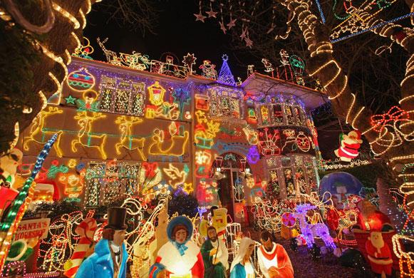 Christmas decorations melksham uk